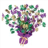 Mardi Gras Comedy And Tragedy Foil Centerpiece