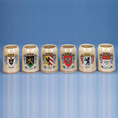 German City Crest Mugs