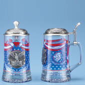 Glass USA Steins