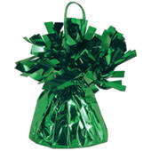 Green Foil Balloon Weight