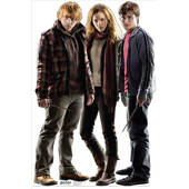 Harry Potter, Hermione And Ron Weasley Lifesized Standup