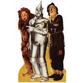 Lion, Tinman And Scarecrow-Wizard Of Oz Lifesized Standup