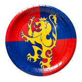 Medieval Paper Plates - 8 5/8""