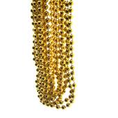 Metallic Gold Bead Necklaces