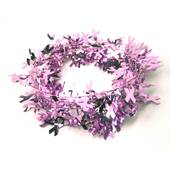 Pink Ribbon Garland