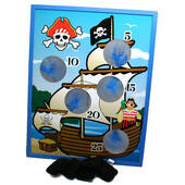 Pirate Ship Bean Bag Toss Game