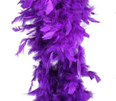 Purple Feather Boa (6', 60 grams)