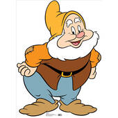 Seven Dwarfs Happy-Lifesized Standup