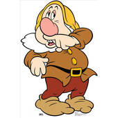 Seven Dwarfs Sneezy-Lifesized Standup