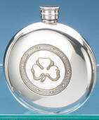Shamrock Circular 6 Oz Flasks