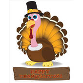 Turkey Lifesized Standup