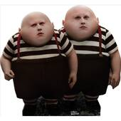 Tweedle Dee Tweedle Dum Lifesized Standup