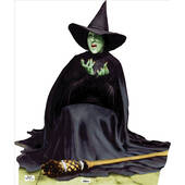 Wicked Witch Melting-Wizard Of Oz Lifesized Standup