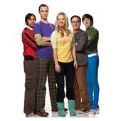 Big Bang Theory Group Lifesized Standup