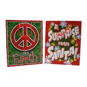 Medium Christmas Glittered Gift Bags